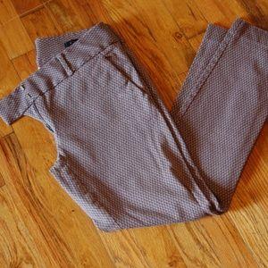 Loft Grey/Maroon Pants